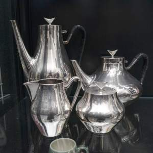 Danish Silver Plated Teaset