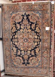 Hand Knotted Persian Rug Kashan