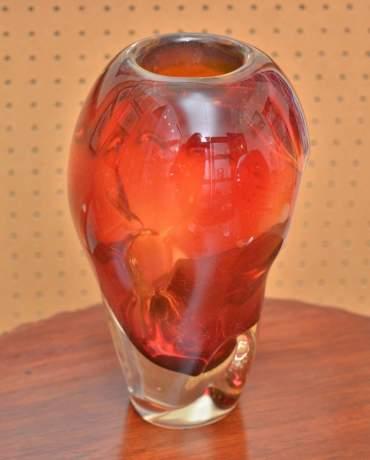 Good Pair of Murano Glass Vases image-2