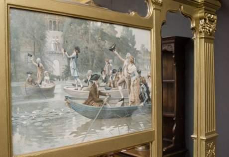 Impressive Victorian Overmantel Mirror image-3