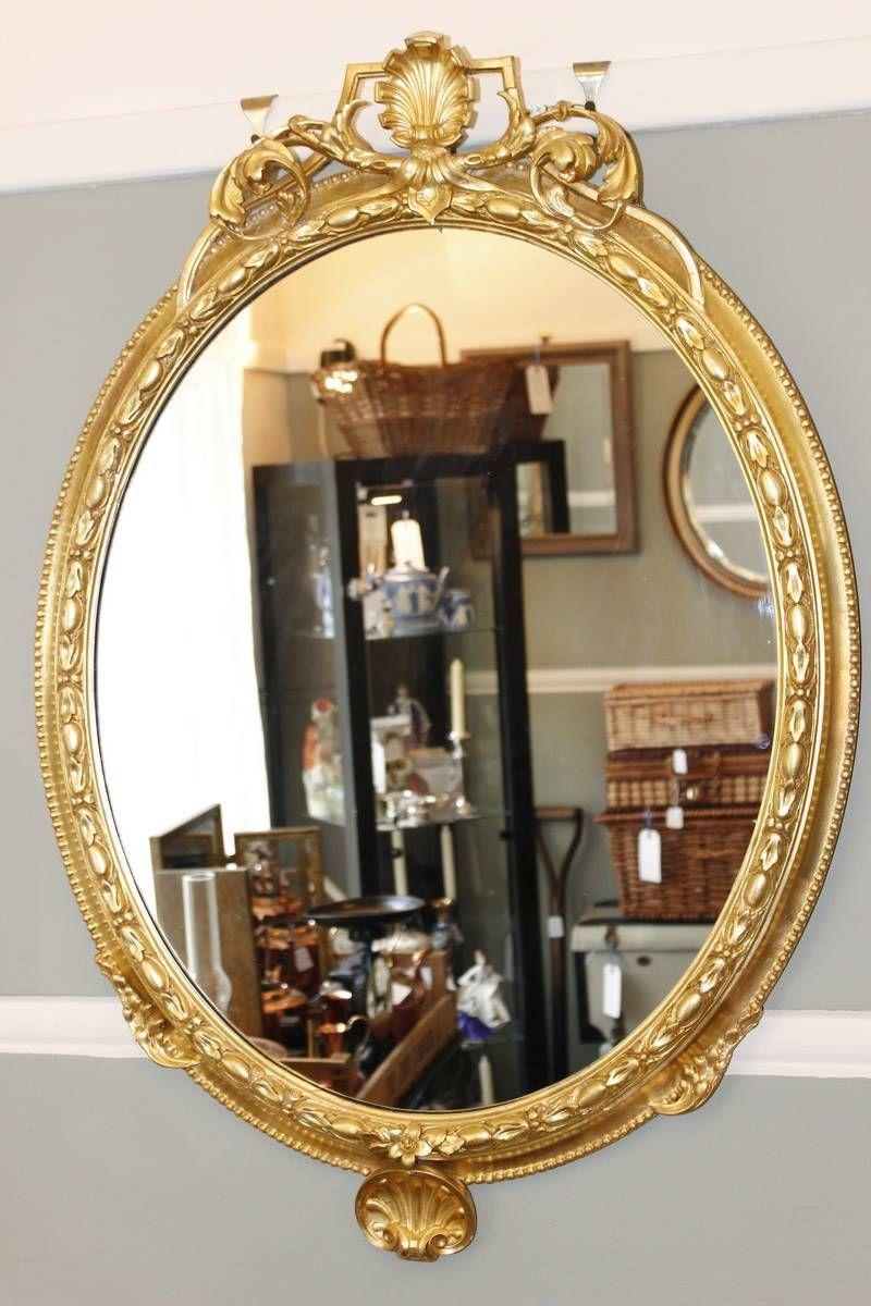 Antiques Atlas - Victorian Giltwood Wall Mirror