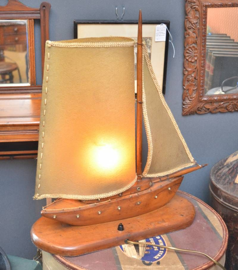 A 1930s wooden ship lamp furniture etc hemswell for Furniture etc