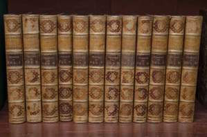 History of England 12 Volumes Full Calf Leather Bound
