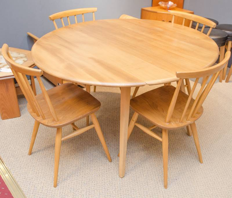 Ercol Dining Table and Four Chairs Antique Dining Chairs  : cfb9824207d46c6bd16a177cd27adf63fa9ae46c from www.hemswell-antiques.com size 800 x 683 jpeg 67kB