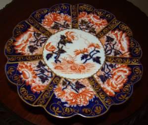 Charles Wileman Japan Pattern Tazza