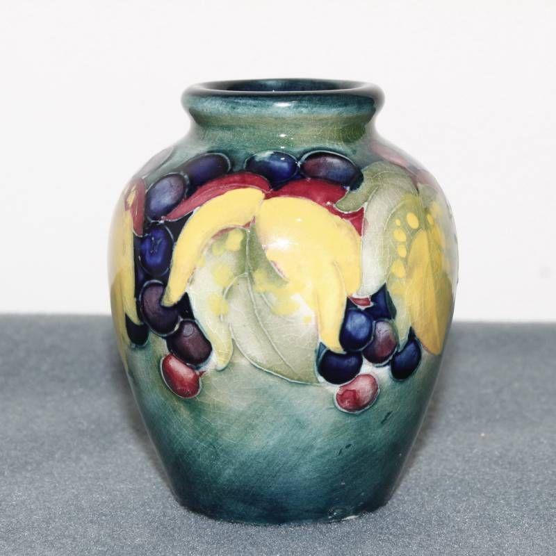 William Moorcroft Vase Ceramics Hemswell Antique Centres