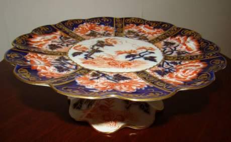 Charles Wileman Japan Pattern Tazza image-2