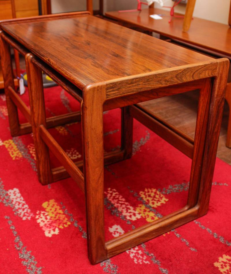 1960s danish nest of tables furniture etc hemswell for Furniture etc