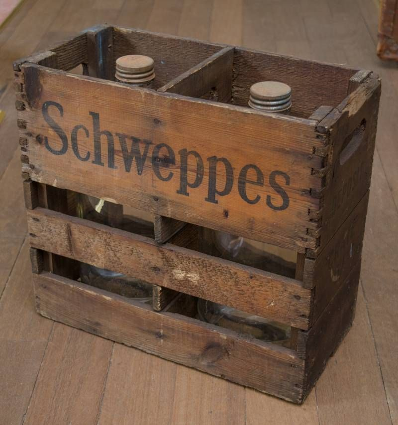 Vintage schweppes wooden crate furniture etc hemswell for Furniture etc