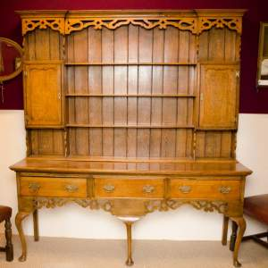 Victorian Oak Dresser With Plate Rack & Antique Dressers - Hemswell Antique Centres