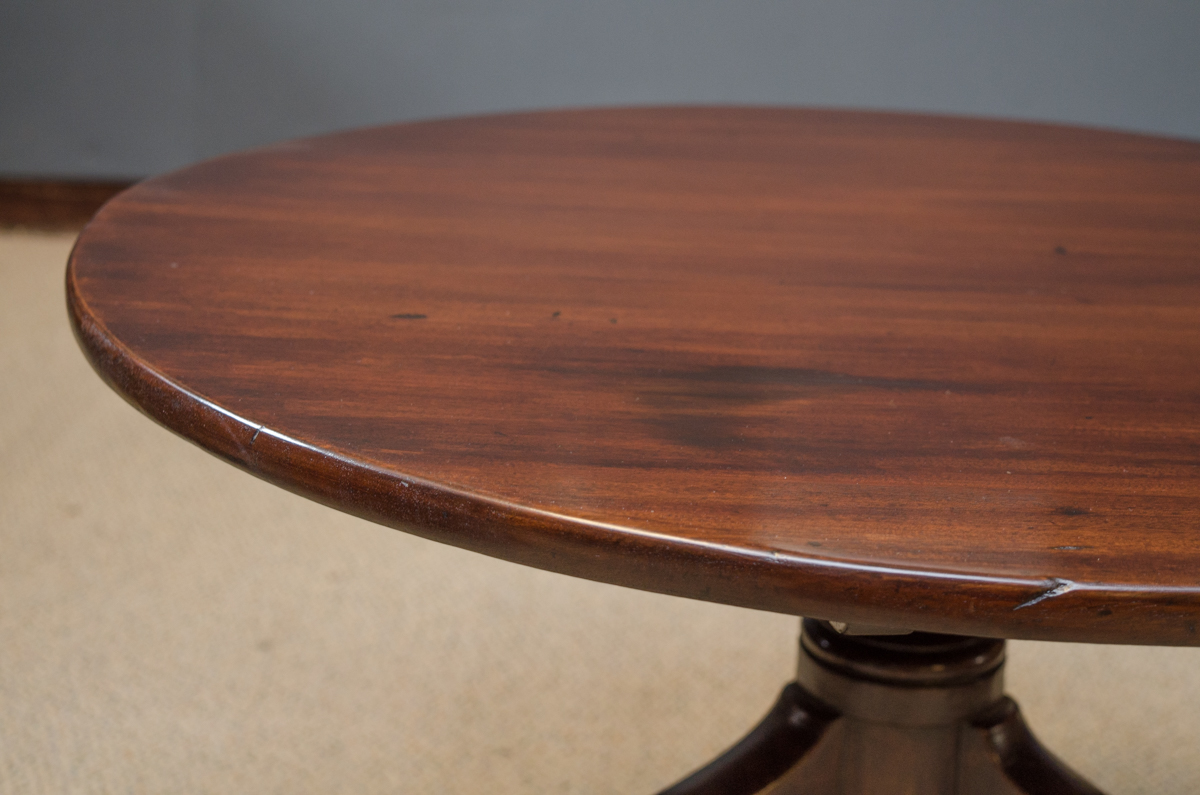 George Iii Mahogany Tripod Coffee Table Antique Tables Hemswell Antique Centres