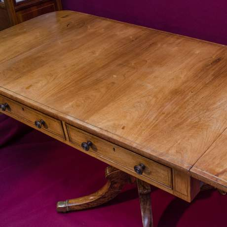 Fine Quality Regency Period Rosewood Sofa Table image-6