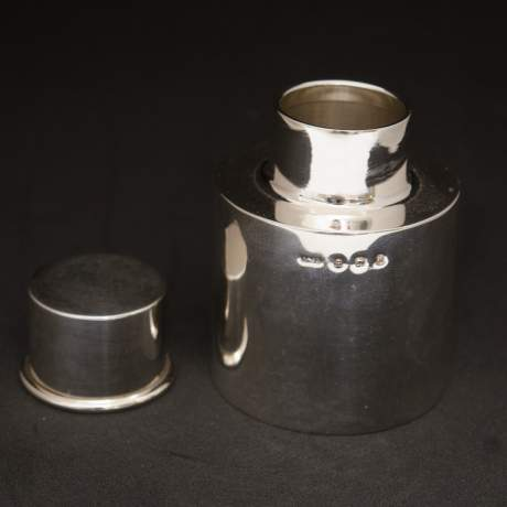 Pair of Silver Tea Caddies image-6