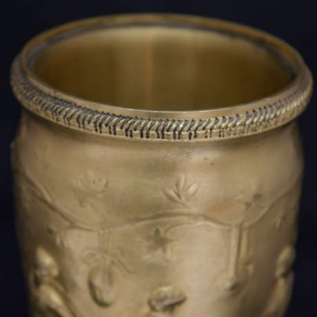 Pair of Neo Classical Gilt Bronze Vases image-4