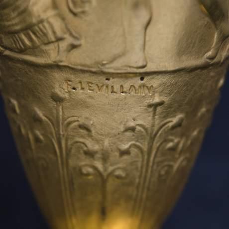 Pair of Neo Classical Gilt Bronze Vases image-5
