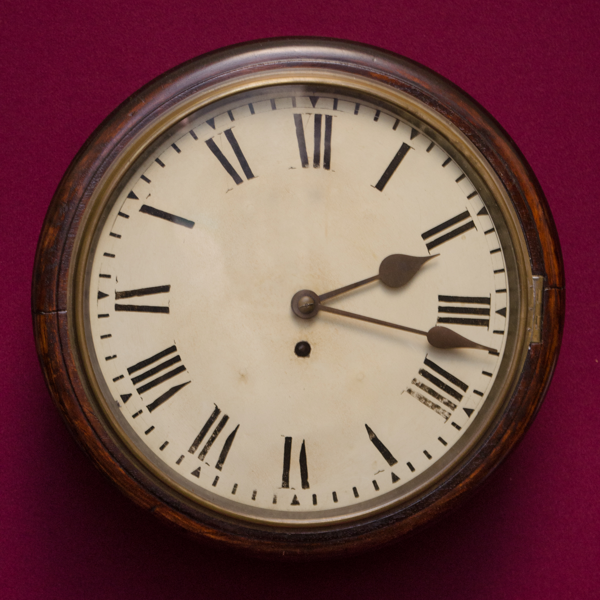 Antique School Clock Wall Clocks Hemswell Antique Centres