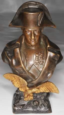 Ruffony Napoleon Bronze Bust image-1