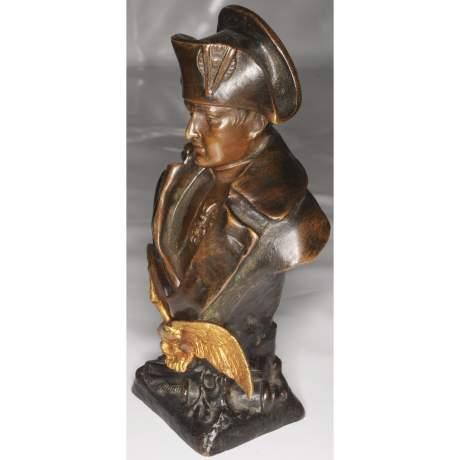 Ruffony Napoleon Bronze Bust image-4