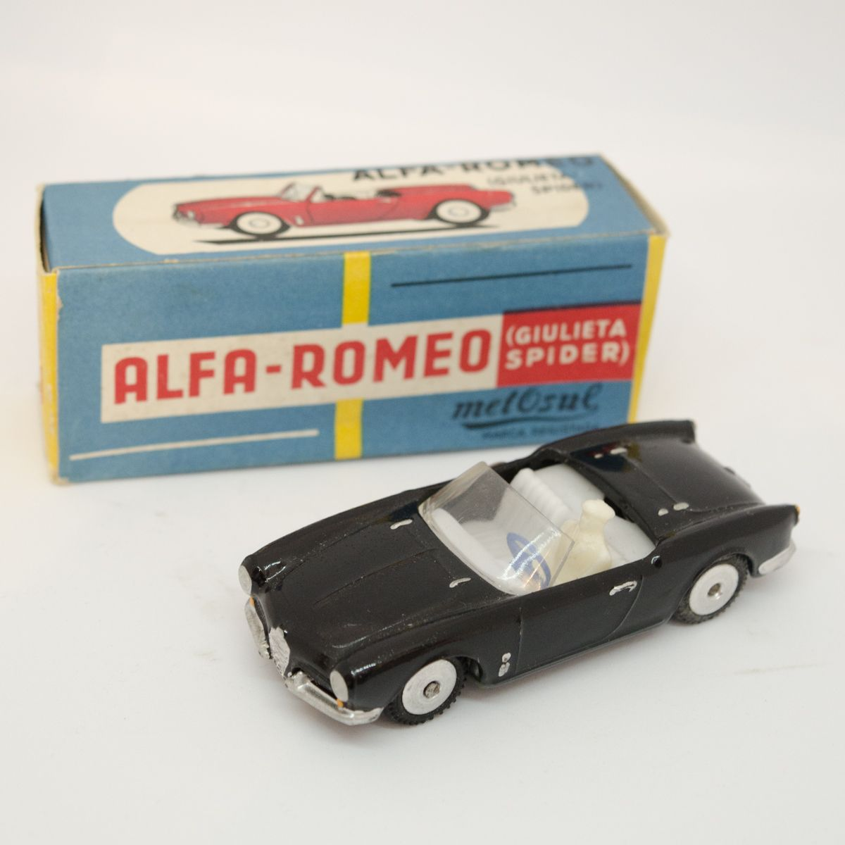 metosul alfa romeo giulieta spider in box gifts for. Black Bedroom Furniture Sets. Home Design Ideas