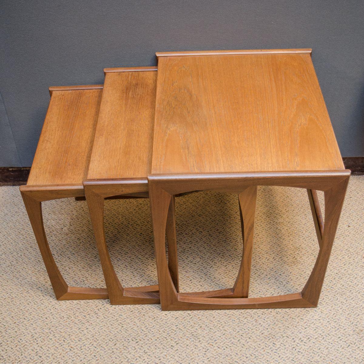 g plan teak nest of tables furniture etc hemswell