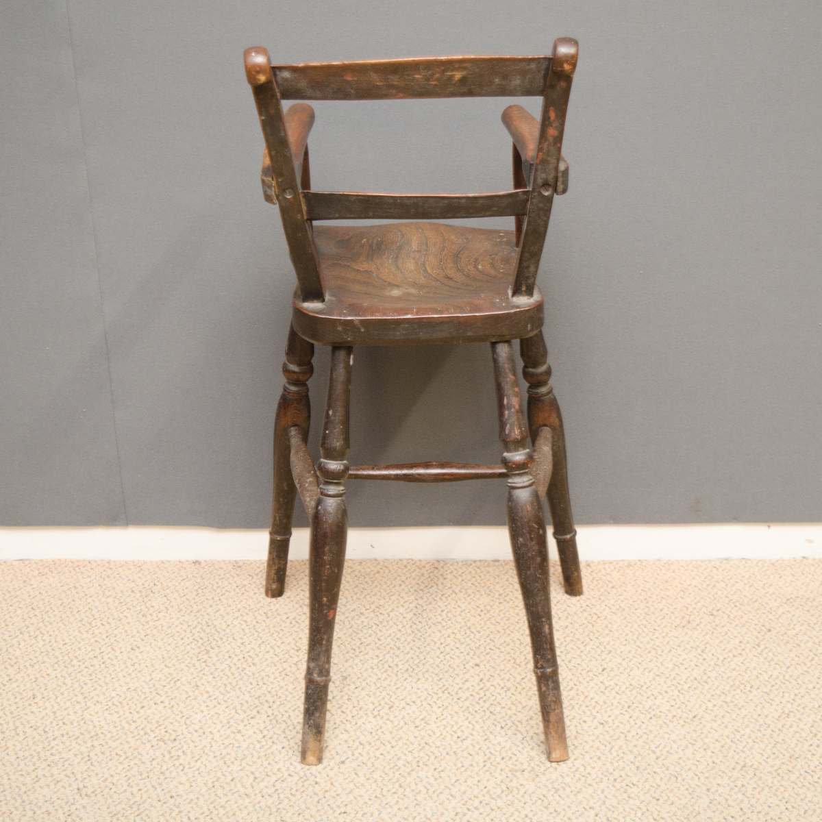 Antique Country Childs High Chair - Antique Country Childs High Chair - Antique Chairs - Hemswell