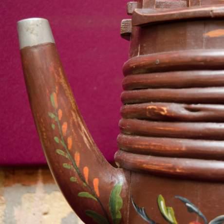 19th Century Swedish Wooden Drinking Vessel image-3