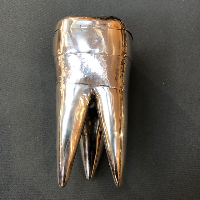 63fde180ebbb Very Rare Novelty Teeth Cigarette Box and Ashtrays Created for Alfred  Dunhill by Matteo Cellini