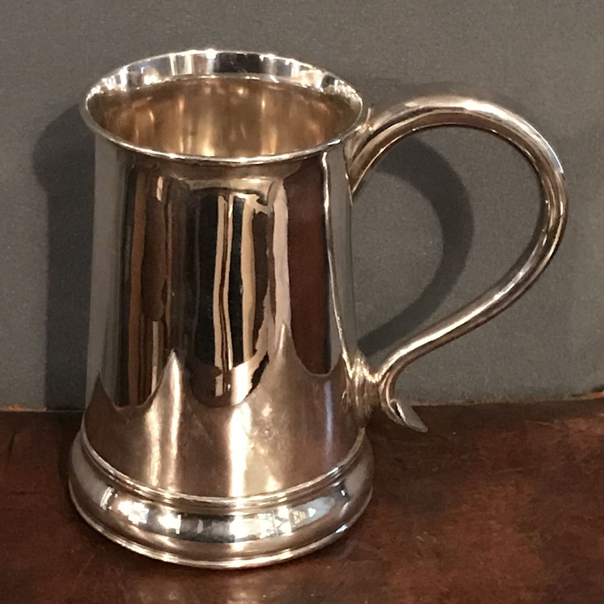 Early 19th Century Old Sheffield Plate Tankard - Antique
