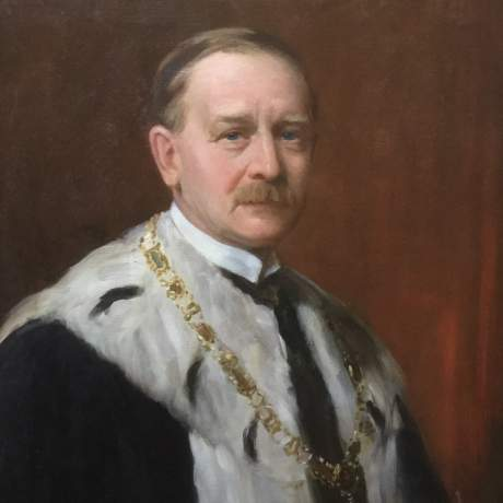 Oil Painting of Henry Archibald by Henry Wright Kerr image-1