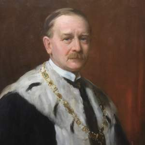 Oil Painting of Henry Archibald by Henry Wright Kerr