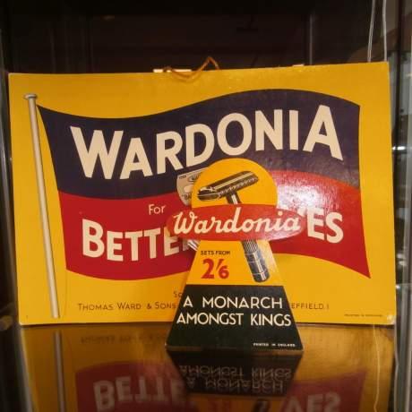 Wardonia Better Shaves Counter Sign image-1