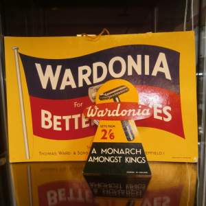 Wardonia Better Shaves Counter Sign
