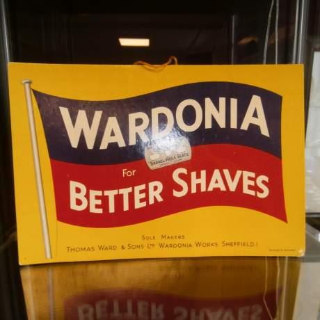 Wardonia Better Shaves Counter Sign image-2