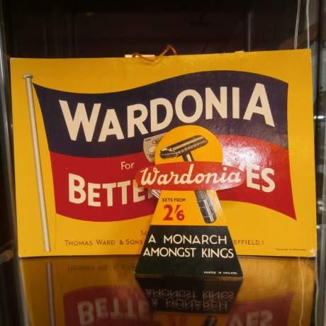 Wardonia Better Shaves Counter Sign image-6