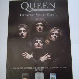 Six Different Queen Original Advertising Posters