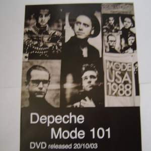 Four of Depeche Mode Original Advertising Posters