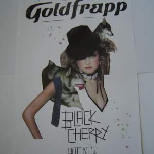 Five Different Goldfrapp Original Advertising Posters