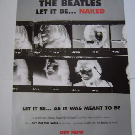 Four Different Beatles Original Advertising Posters Set 2 image-1