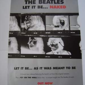 Four Different Beatles Original Advertising Posters Set 2