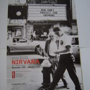 Nirvana – A Retrospective -  2  x 1999 Exhibition Posters