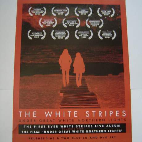 Five Different  The White Stripes Original Advertising Posters image-1