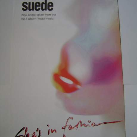 Four  Different Suede Original Advertising Posters image-1
