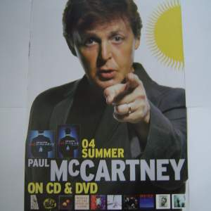Four Beatles Paul McCartney Original Advertising Posters
