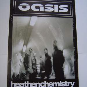 Four  Different Oasis Original Advertising Posters
