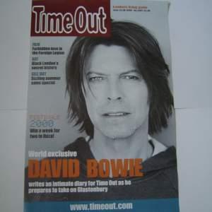 David Bowie Meltdown Festival 2002 London Original Poster