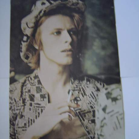 David Bowie A Very Rare 1970s Original UK Poster image-1