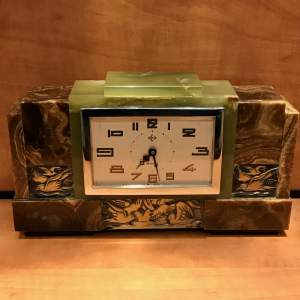 Art Deco French Mantel Clock