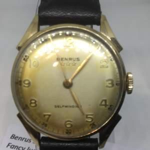 Benrus Vintage Self Winding 1940s Wristwatch