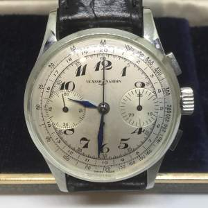 Vintage Ulysse Nardin Chronograph Watch