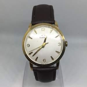 1961 9ct Gold Mens Tissot Watch